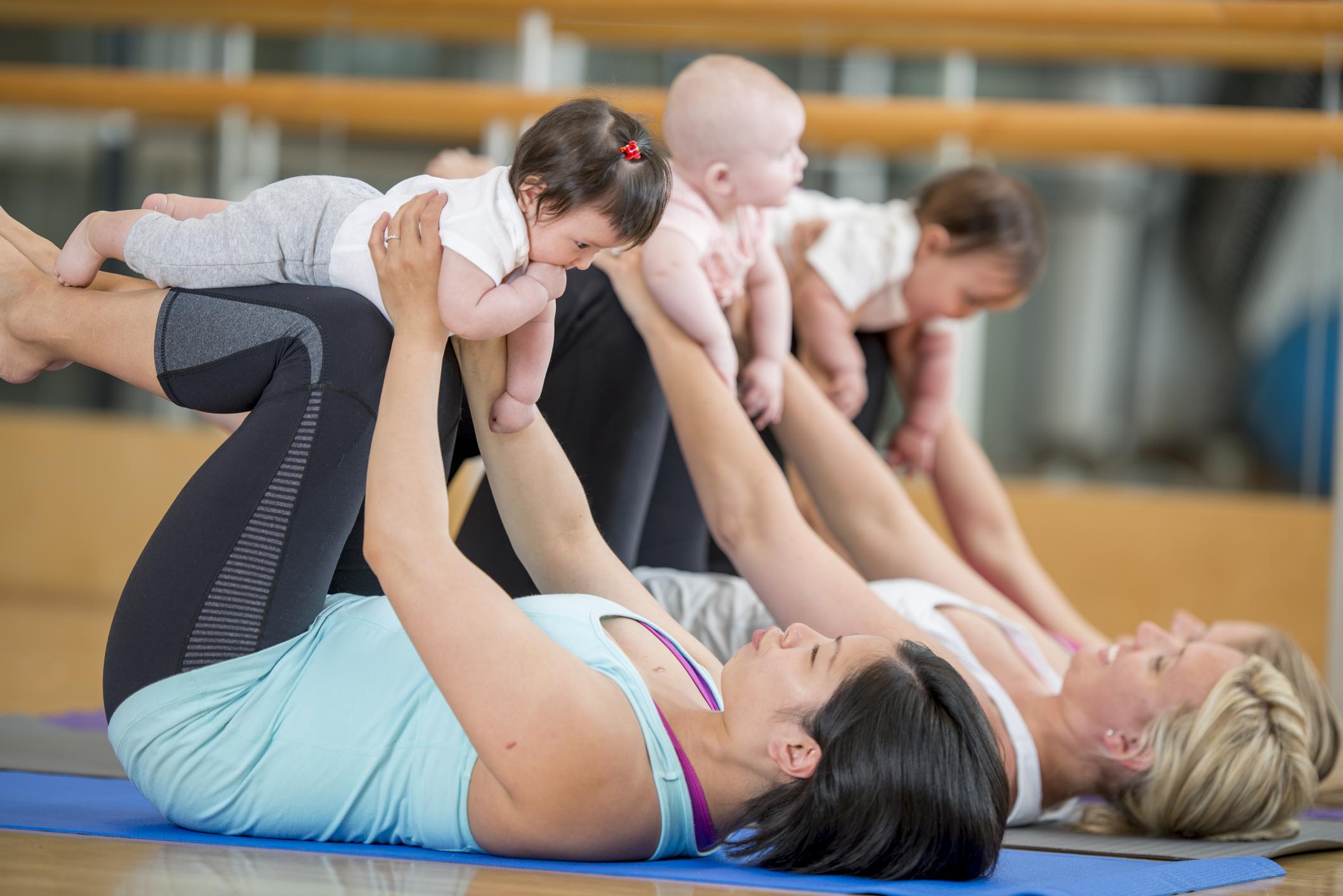 Hebamme und Yogalehrerin Petra